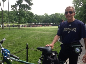 Dan at Vietnam Memorial