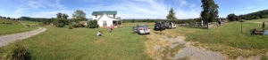 Farmstead panorama in Reva, VA