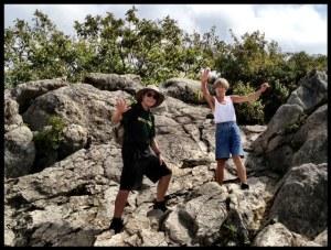 Dan and Hannah on Mary's Rock