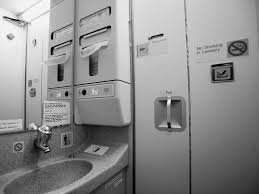 FD inflight bathroom