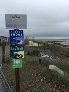 Nov 3 Sign of bay trail
