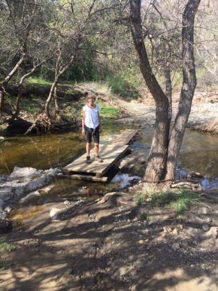 PF 4 H on creek trail