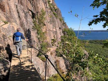 Prec 3A walkway on cliffside